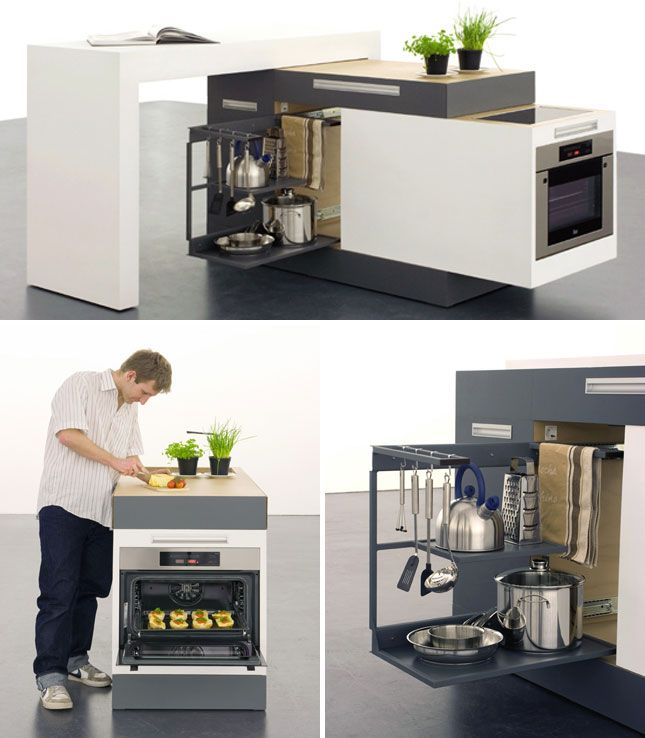 Functional And Practical Kitchen Solutions For Small: 111 Best Futuristic Kitchen Images On Pinterest
