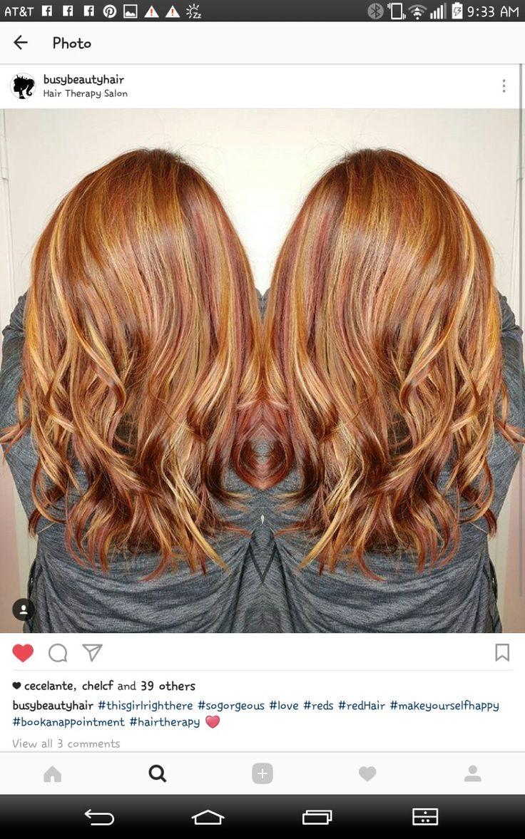 25 best ideas about long auburn hair on pinterest for A b mackie salon