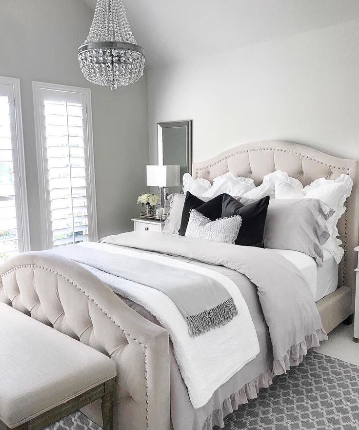 """8,615 Likes, 51 Comments - Z Gallerie (@zgallerie) on Instagram: """"Can we just crawl back into bed already Spotted our Nicolette Bed in Bella Pearl! Thanks for…"""""""