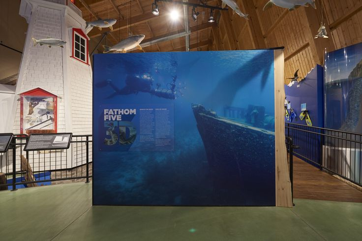 The Fathom Five National 3D Film Exhibit, designed and fabricated by Holman - Holman is honoured to have created so much great work for Parks Canada and is proud to take part in celebrating Canada's 150th Anniversary!