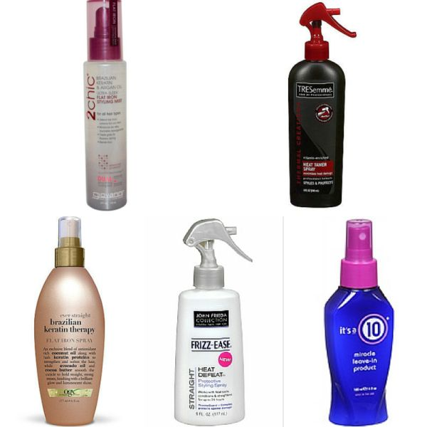 Best Products To Use For Flat Ironing Natural Hair