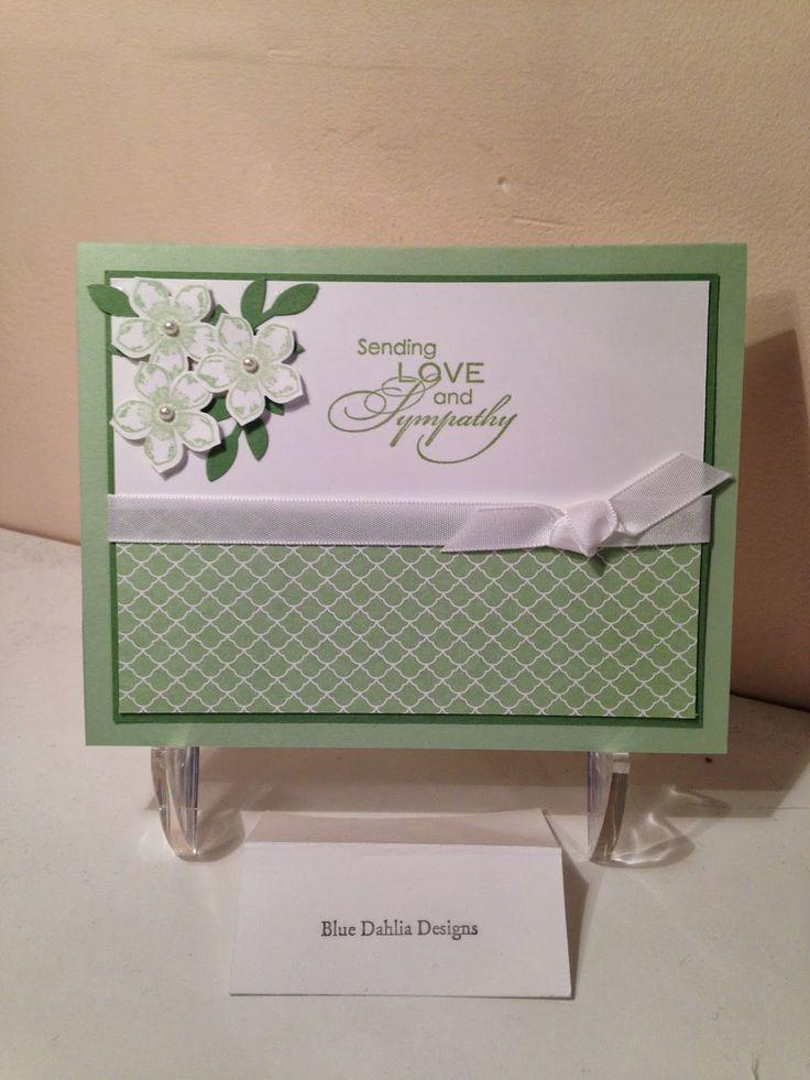 Blue Dahlia Designs: Sympathy for Cheryl    :))