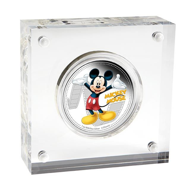 Mickey Mouse - 1oz pure silver limited edition collectibles