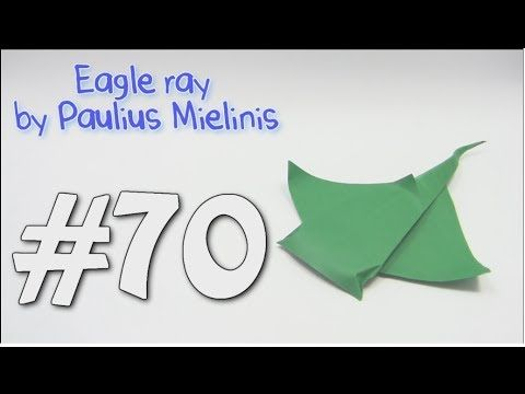 easy origami eagle instructions