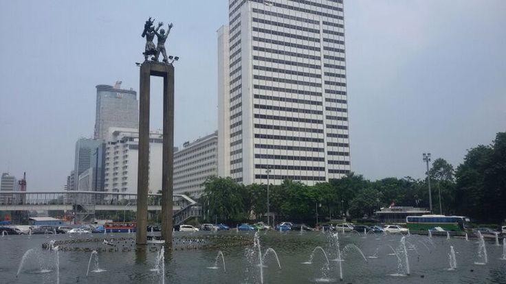 Bundaran HI, Jakarta, Indonesia