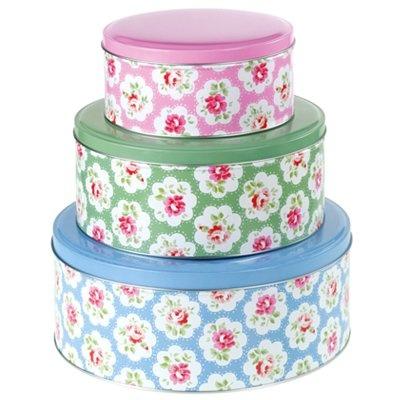 Cath Kidson cake tins - so pretty!