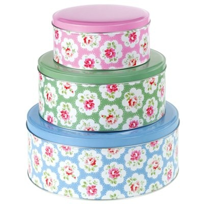 Cath Kidson cake tins - so pretty!