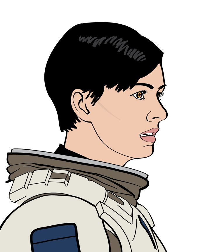 Anne Hathaway as Dr. Amelia Brand.