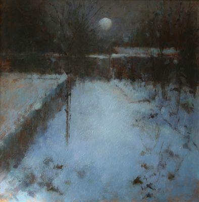 Judith Gardner ~ Garden in Snow