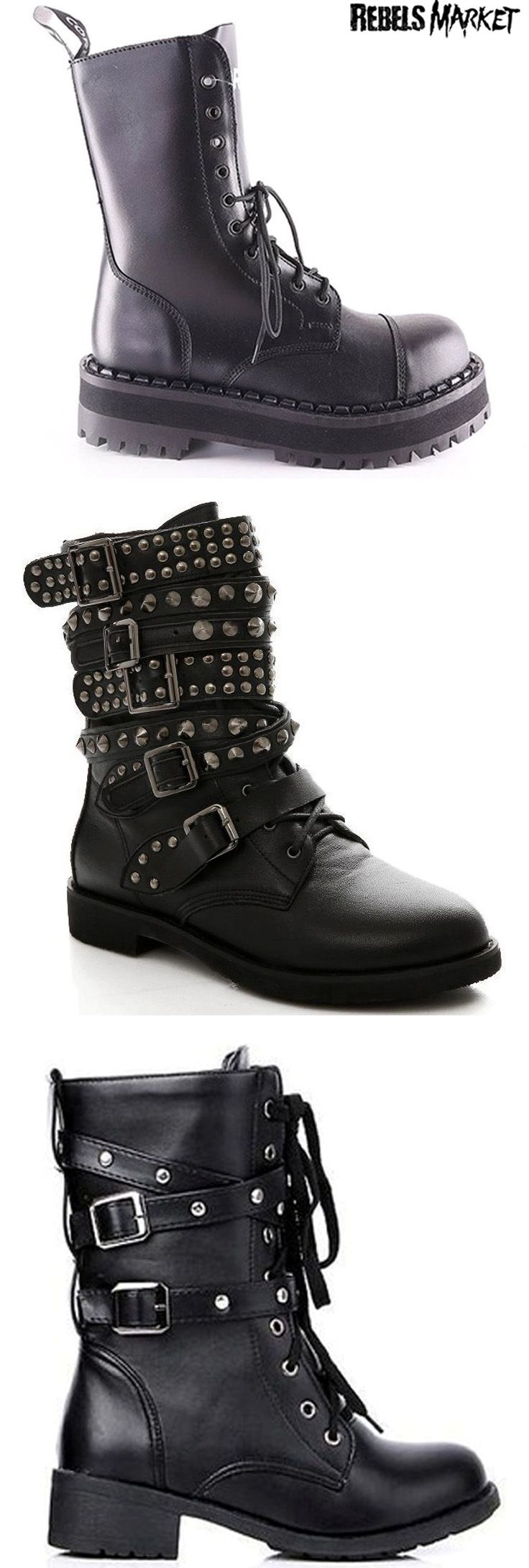 Shop punk boots at RebelsMarket!