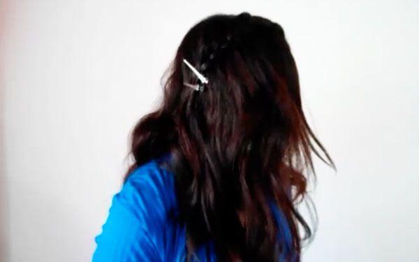 Treccia a cascata 600 5 Tutorial capelli: treccia a cascata originale