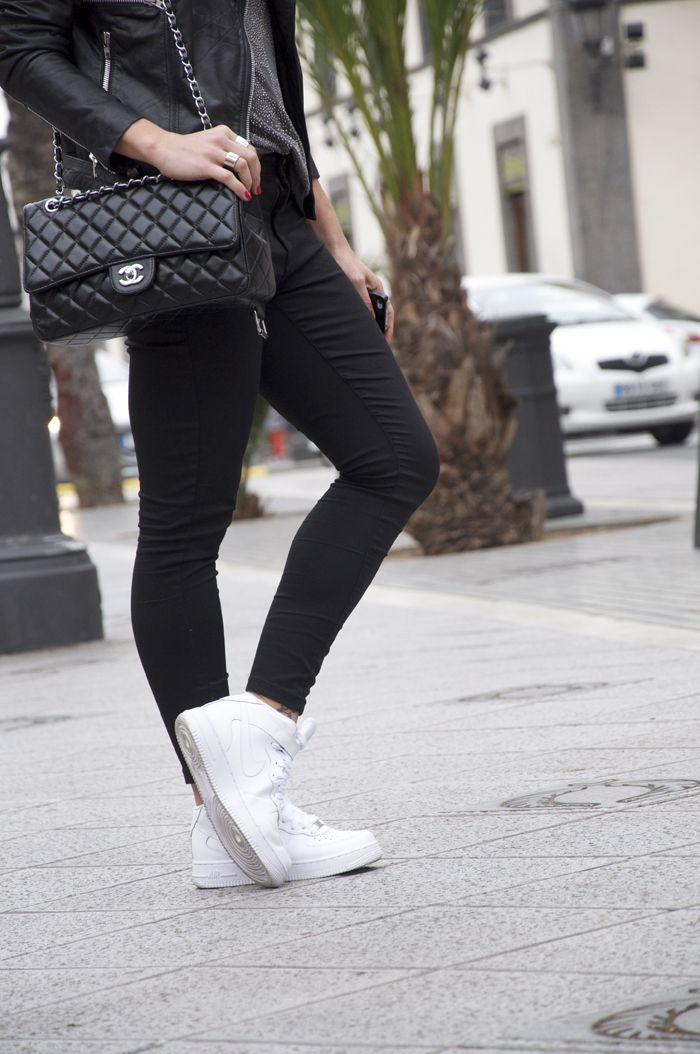 nike air force 1 streetstyle