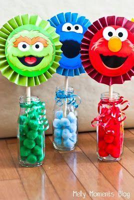 Adorable Sesame Street birthday party ideas!