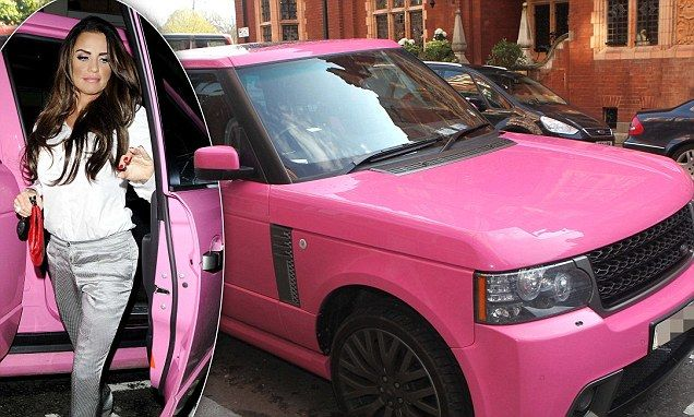 Katie Price has put her bright pink Range Rover up for sale, and fans can have a slice of her lifestyle for just under £70,000..