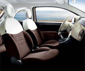 Fiat 500. Looks quite big inside!
