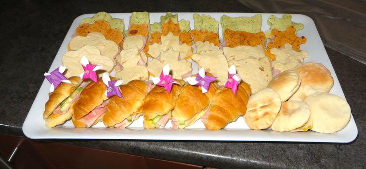 Sandwich Party Ideas - Shapes