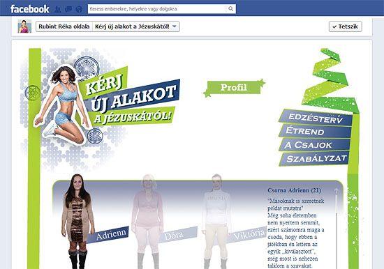 Facebook applikációhoz kampánykreatív készítése - Kérj új alakot a Jézuskától!