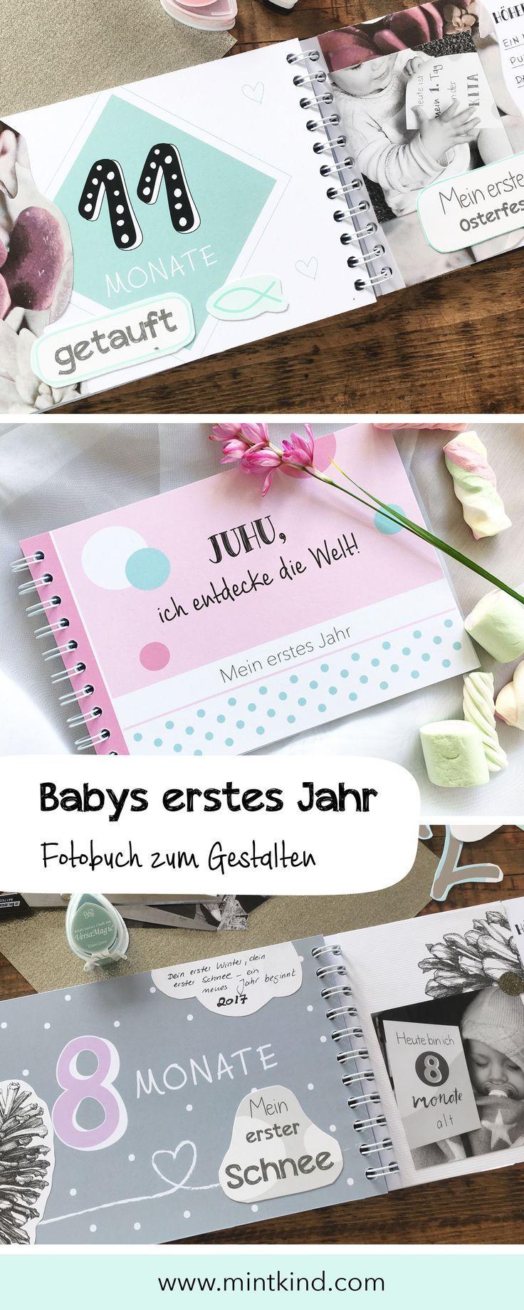 Mein erstes Jahr Das Babybuch zum selber eintragen