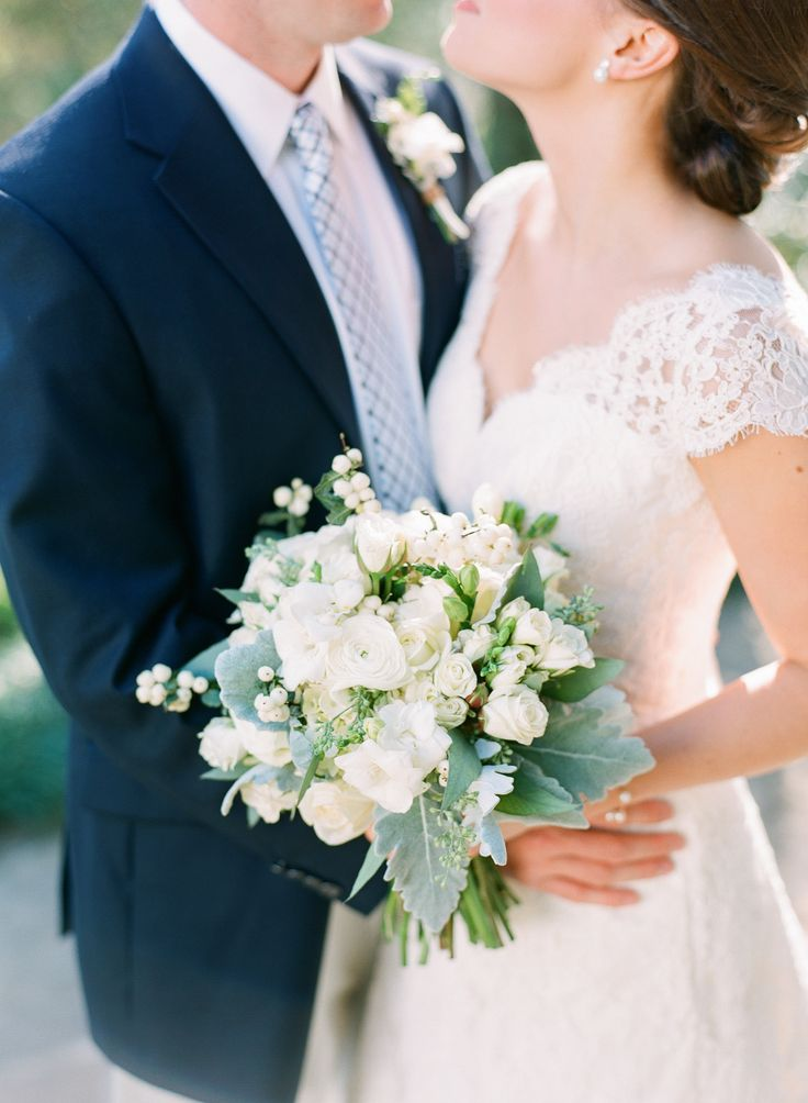 Intimate Southern Wedding Dressed in Neutrals