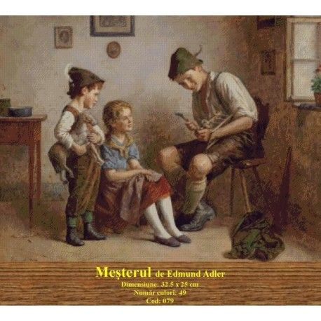 Vanzari set goblen Mesterul de Edmund Adler http://set-goblen.ro/portrete/3728-mesterul-de-edmund-adler.html