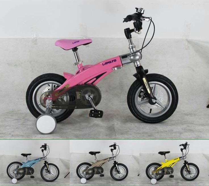 [Visit to Buy] 12inch LAN Q Kids bicycles Magnesium alloy telescopic children's bicycles disc brakes bicycle 14inch bike 16inch bike #Advertisement