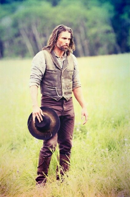 Anson Mount.. there's just something about him, especially in Hell On Wheels costume