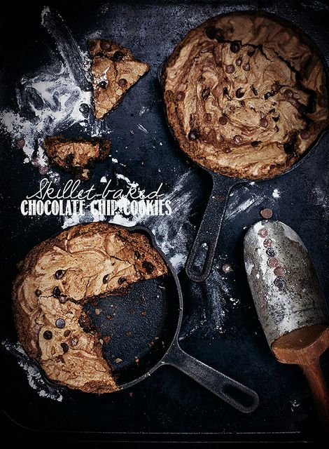 Best Ever skillet-baked chocolate chip cookies