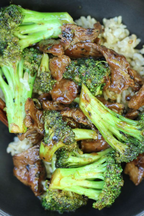 Beef with Broccoli by kimmysdbakeshope: Easy quick and healthy. #Beef #Broccoli
