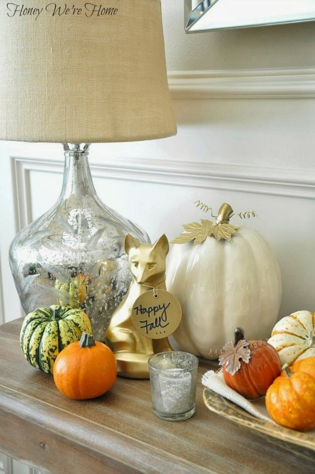 Rustic glam fall decor autumn pinterest fall rustic for Rustic and more