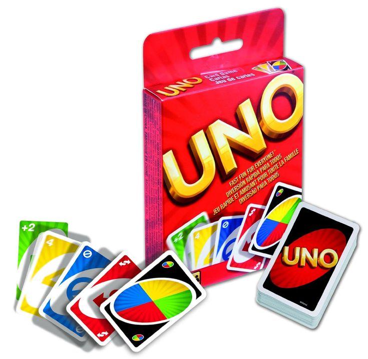 Mattel Uno Cards - Card Game (W2087)  Manufacturer: Mattel Barcode: 746775036744 Enarxis Code: 016435 #toys #Mattel #boardgames #Uno #card