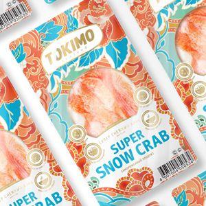 TOKIMO — крабовое мясо в дизайне от Idea Brand / Компания: КВЭН/Торговая марка: TOKIMO/Агентство:Idea Brand  Компания «КВЭН» решила запустить на рынок новый продукт, имитирующий крабовое мясо, «Супер снежный краб» под торговой маркой Tokimo. Вкус и структура продукта максимально приближены к мясу краба за счет использования новых производственных технологий, а позиционируется он не только как полноценная замена крабового мяса в различных блюдах, но и как самостоятельная закуска. Для…