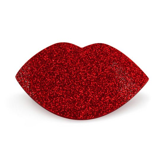Paw Palette Regular Red Glitter Smooches product smear.