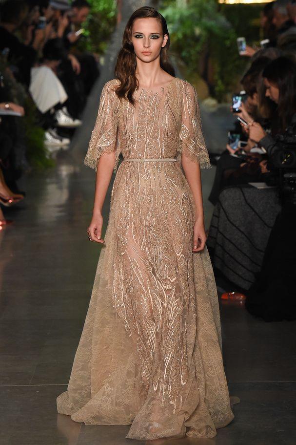 Look 11 Elie Saab Haute Couture Printemps-été 2015 © Style.com