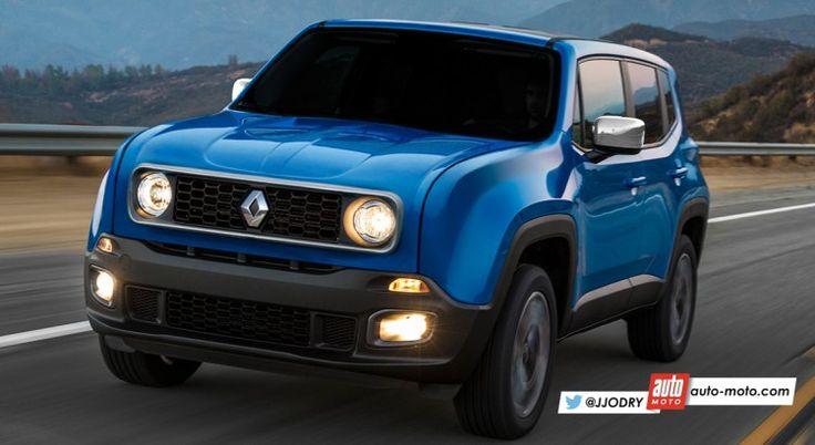 INSOLITE – Nouvelle Renault 4L (2017) : un retour en SUV !