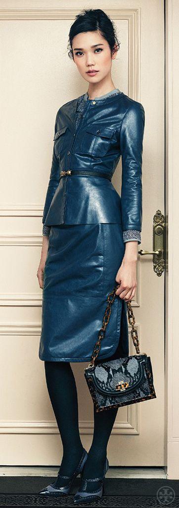 nice kavaj    Tory Burch Fall 2012 | Ladylike Leather