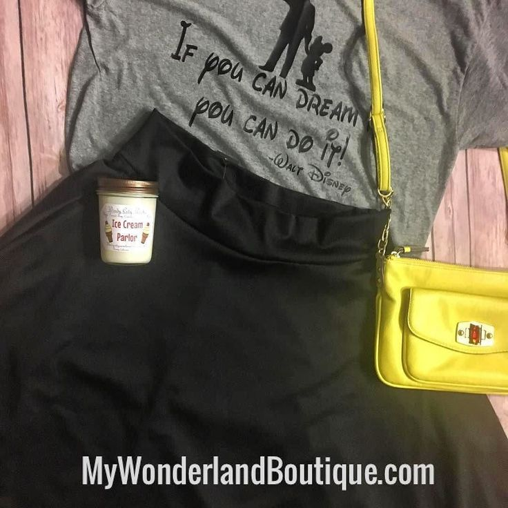 "@my_wonderland_boutique  ""If you can dream it you can do it."" -Walt Disney  Great Monday motivation! I've got the classical black Midi skirt available in medium and large! Shop at MyWonderlandBoutique.com . . . . . #agnesanddora #aandd #flatlay #skirt #graphictee #mickey #mickeymouse #disney #disneystyle #disneyfashion #disneyootd #mondaymotivation #motivationalquotes #motivation #waltdisney #disneyquotes #boss #bossbabe #girlboss #ladyboss #entrepreneur #womenentrepreneurs #shopping…"