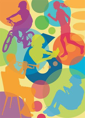 136 best murals images on pinterest for Elementary school mural ideas