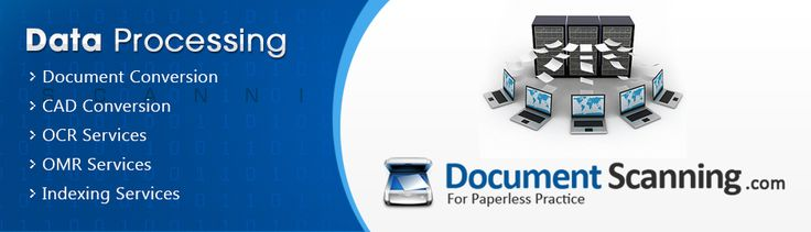 At Document Scanning, we offer a broad range of data processing services. Whether it be specific need like converting data from legacy formats to new standardised formats or processing on already scanned source files. We provide scanning, processing, conversion and digitisation services that enable ease, efficiency and assured long-term data storage and retrieval. We recommend availing Data Processing services with our Scanning services for the best results.