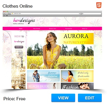 31 best HTML Website Templates images on Pinterest Website - how to create a website template
