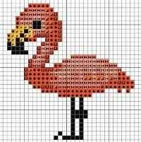 Flamingo Cross Stitch | eBay - Electronics, Cars, Fashion