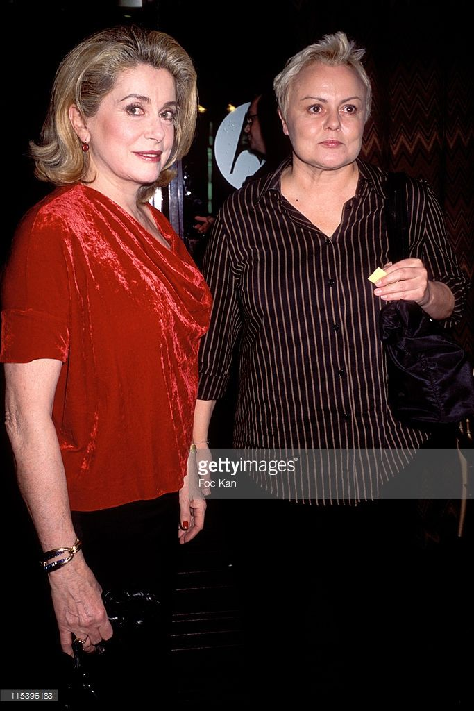 Photo d'actualité : Catherine Deneuve and Muriel Robin during...