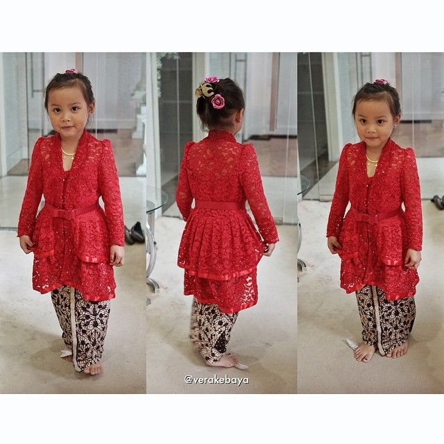 Nayla ...fitting  #kebaya #batik #fashionkids