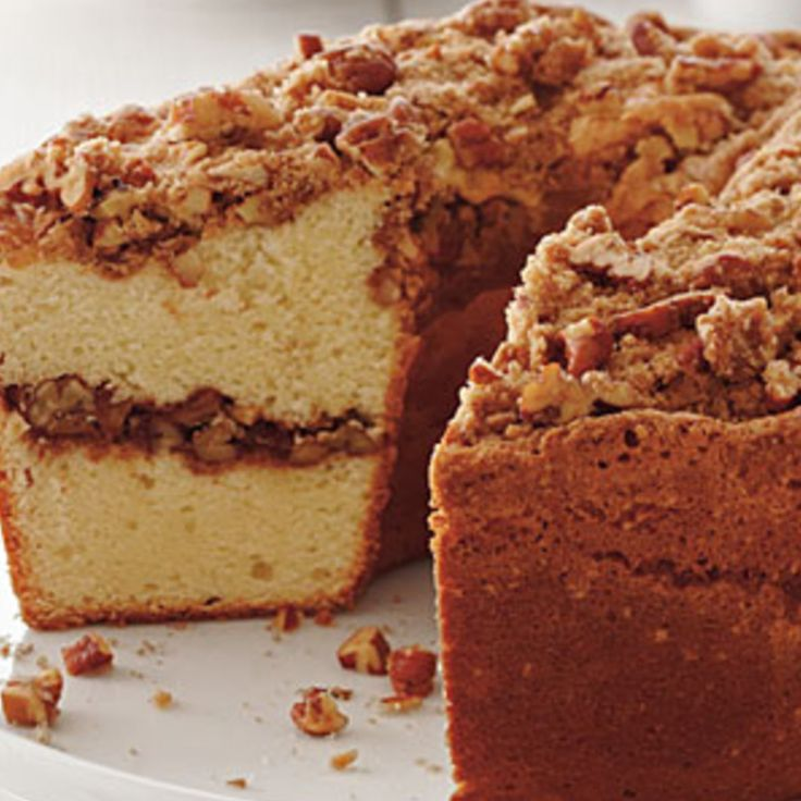 Coffee Cake Pound Cake - Southern Living Recipe | Just A Pinch Recipes