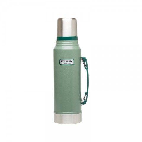 Køb STANLEY TERMOFLASKE CLASSIC FLASK GRØN 1 L online hos BAUHAUS. Vi har altid den rigtige pris. Stanley termoflaske Classic Flask grøn 1 l Kvalitetstermoflaske, eller termokande, fra Stanley, som holder helt tæt og kan holde eksempelvis kaffe