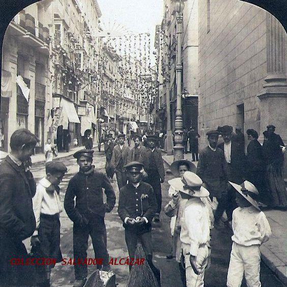 1906. Calle del Carmen.