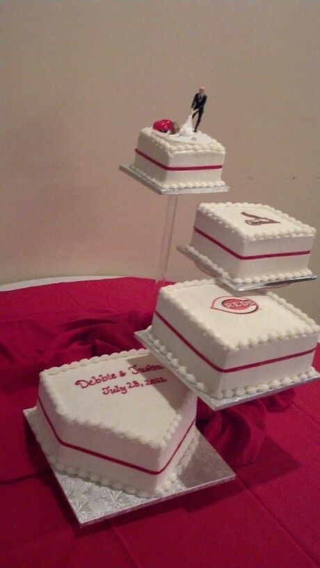 baseball Wedding Cakes | Baseball cake!