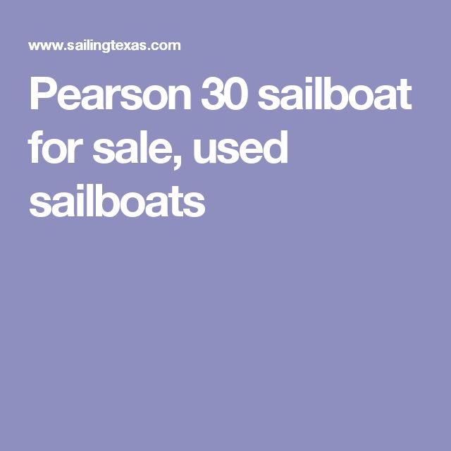Pearson 30 sailboat for sale, used sailboats