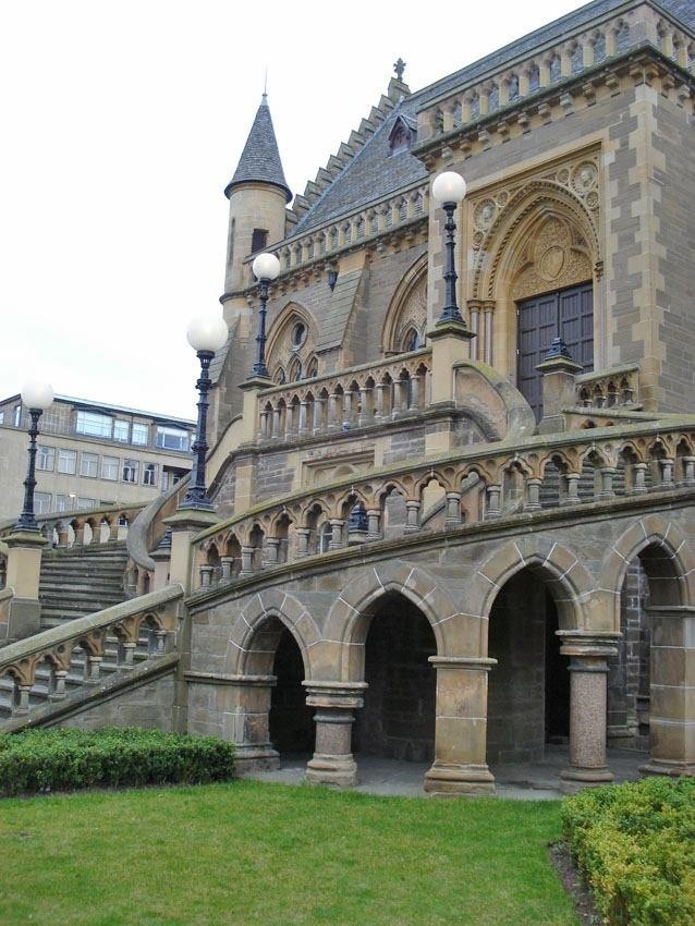 The McManus Gallery Dundee Scotland Victorian style