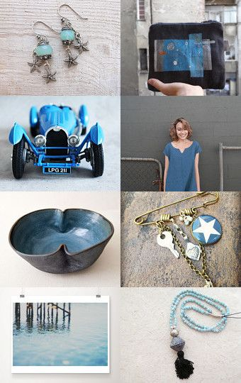 I've got the blues – and it's looking good by Tina Lindholm Kanerva on Etsy--Pinned with TreasuryPin.com