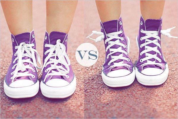 Кеды с узелками (DIY) / Обувь / Своими руками - выкройки, переделка одежды, декор интерьера своими руками - от ВТОРАЯ УЛИЦА